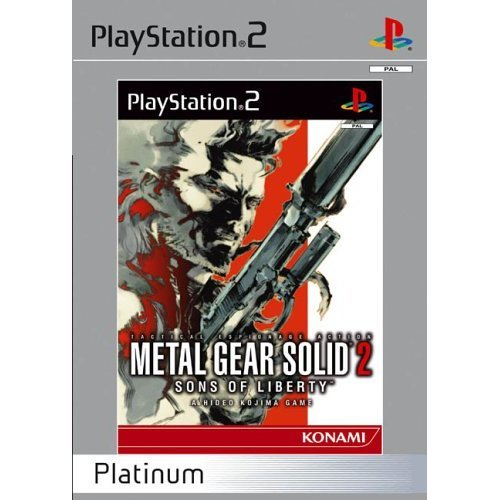 Metal Gear Solid 2 - Sons of Liberty - Metal Gear Solid 2 (PS2)