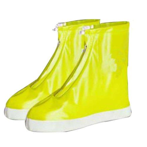 Rain Shoe Cover  Non-slip Wear  Shoe Cover Waterproof [yellow]