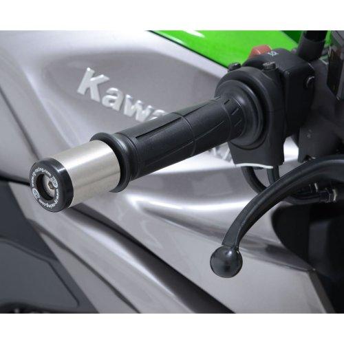 R&G Bar End Sliders for Kawasaki Ninja 125 / ZX7-R/RR / ZZR1400 / GTR1400 / Z1000 10- /SX/R / Versys 1000 12-18 / ER6 12- & Ducati Monster S4 01-03