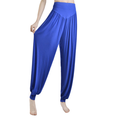 Women's Super Soft Modal Spandex Harem Yoga Pilates  Pants?breathable