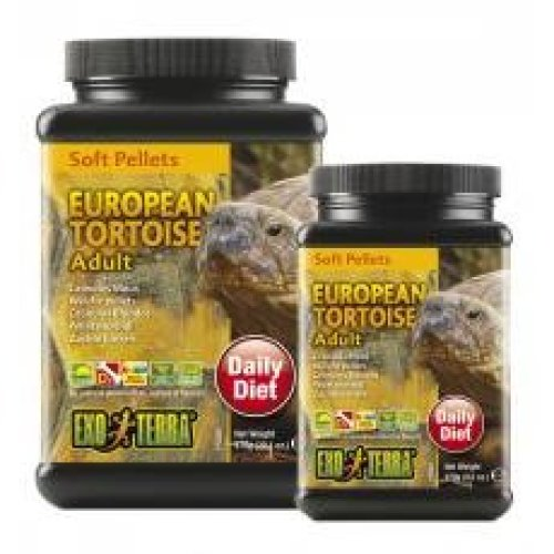 Exo Terra Soft Pellets Adult European Tortoise Food 270g