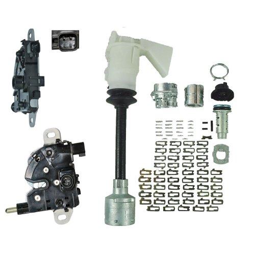 BONNET HOOD LOCK & LATCH REPAIR KIT FOR FORD FOCUS MK2 05-11, FOCUS C-MAX 03-07