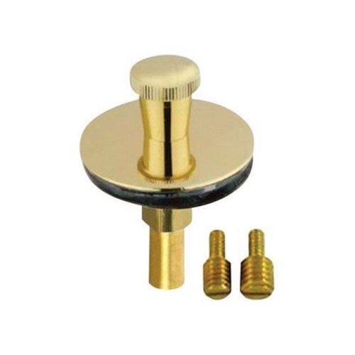 Pf Waterworks PF0955-PB Brass Lift N Lock Tub Drain Stopper