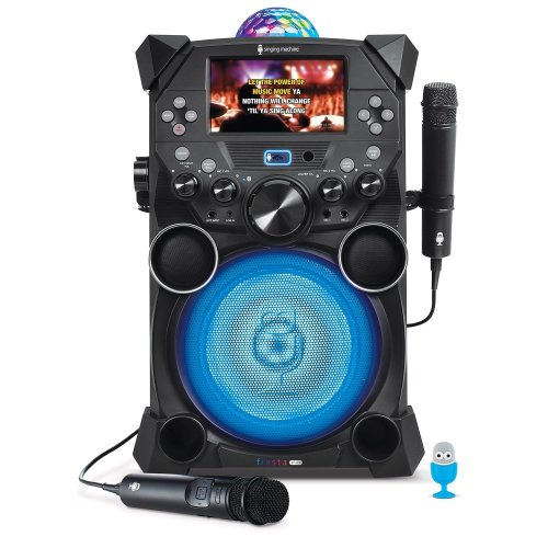 Singing Machine Fiesta Voice with LCD Monitor, Rechargeable Battery and Bluetoot