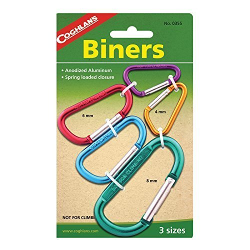 Coghlans Biners, 2 Pack, 6 mm