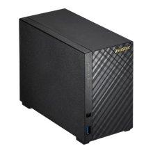 ASUSTOR AS3102T 2-Bay NAS Enclosure (No Drives), Dual Core CPU, 2GB DDR3L, HDMI, USB3, Diamond-Plate Finish