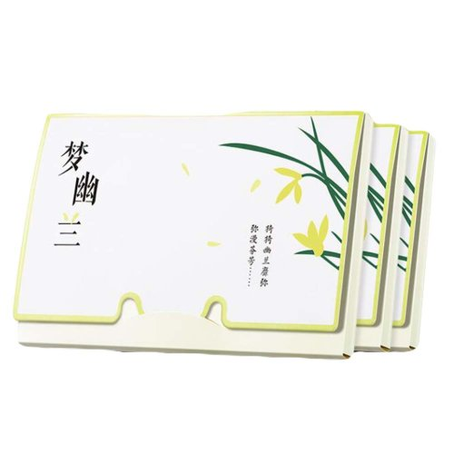 Orchid Oil Absorbing Sheets for Oily Skin Care,100 Sheets (Pack of 3)