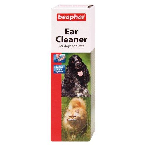Beaphar Dog & Cat Ear Cleaner 50ml (Pack of 3)