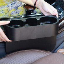 Universal Car Beverage Cup Holder Portable Vehicle Seat Gap Organizer Shelving