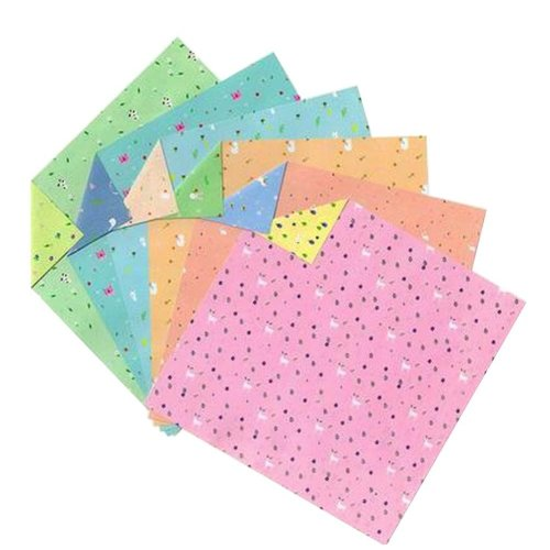 144 Sheets Colorful Square Origami Papers Craft Folding Papers #18