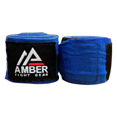 "Amber Fight Gear Mexican Style 200"" Elastic Handwraps Mexican Style Elastic Handwraps"