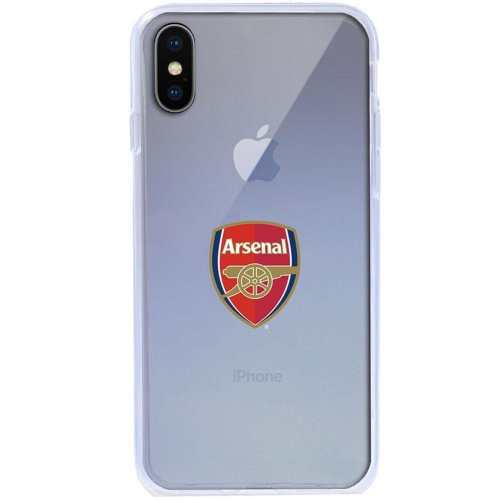 pick up 2863d c3f18 Arsenal FC iPhone X TPU Case