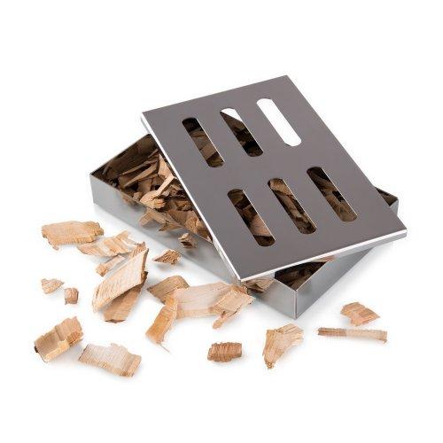 Blumtal Smoker Box, BBQ Smoker Box For Smoking Chips And Wood Smokers, Rust Proof Stainless Steel Smokerbox