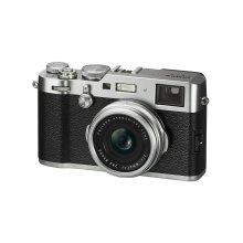 Fujifilm X100F Compact Camera - Silver | Retro-Style Digital Camera