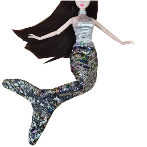 Set of 2 Beautiful Exquisite Mermaids Suits Doll Dress For 11.81-inch Doll-Blue