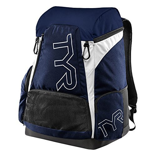 TYR Unisex's Alliance 45L Backpack, Navy/White, Size 45/Large