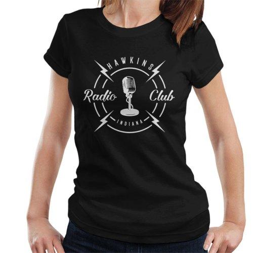 Hawkins Radio Club Indiana Stranger Things Women's T-Shirt