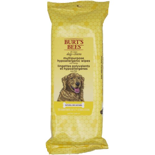 Burt's Bees Dog Wipes 50/Pkg-Multipurpose