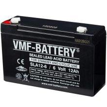 VMF AGM Battery Standby and Cyclic 6 V 12 Ah SLA12-6