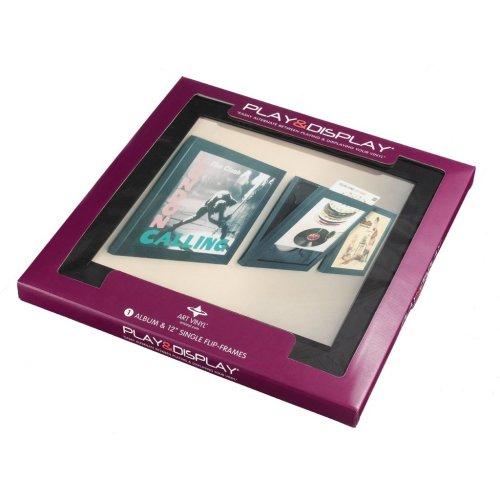 Art Vinyl Play & Display Record Frame (Black)