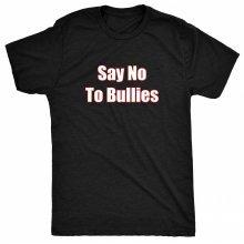 8TN say no to bullies Womens T Shirt