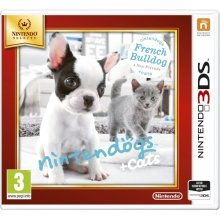 3DS Nintendogs and Cats (French Bulldog Plus NF) Selects Nintendo 3DS Game