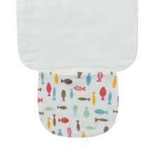 3 PCS Lovely Fish Style Babies Towels for Sweat Absorbent 25.5x20 cm