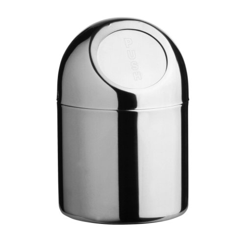 Mini Waste Bin, Stainless Steel