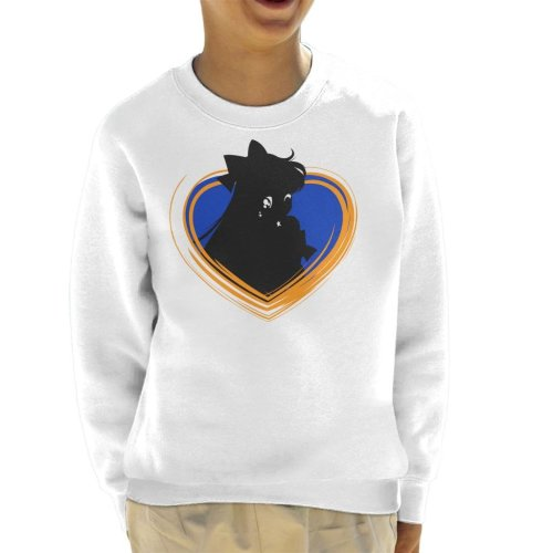 Sailor Moon Venus Heart Kid's Sweatshirt