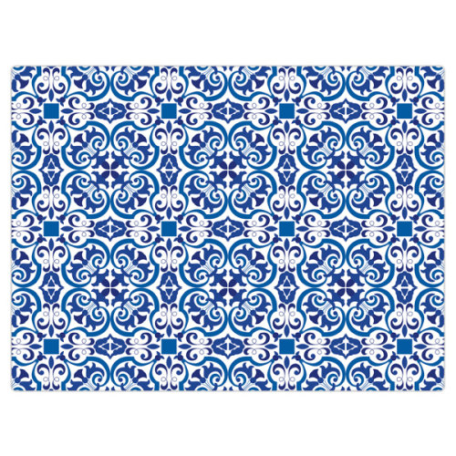 iStyle Moroccan Tiles Glass Worktop Saver