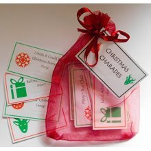 Christmas Charade game - Excelent for Christmas party, christmas day game, game for family