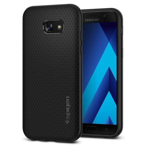 Samsung Galaxy A5 2017 Case, Spigen, [Liquid Air] [Black]