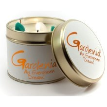 Lily Flame Candle in a Tin - Gardenia