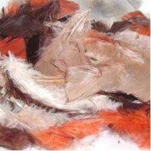 Plumage - 1/2oz -  plumage 12oz fluffy plumes earthtone feathers crafts jewellery