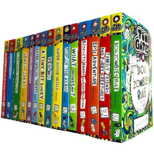 Tom Gates Series 15 Books Collection Set