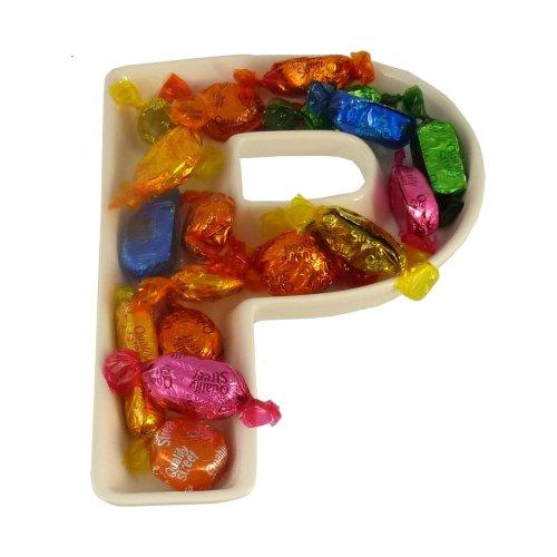 P Alphabet Dish