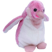 Petjes World Girly Penguin Soft Toy 13cm