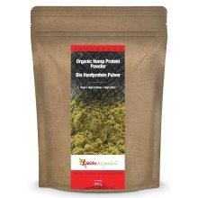 Hemp Protein Powder 500g, Raw, Certified Organic, Top Quality