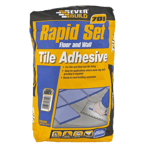 Everbuild 705 Rapid Set Tile Mortar 20kg