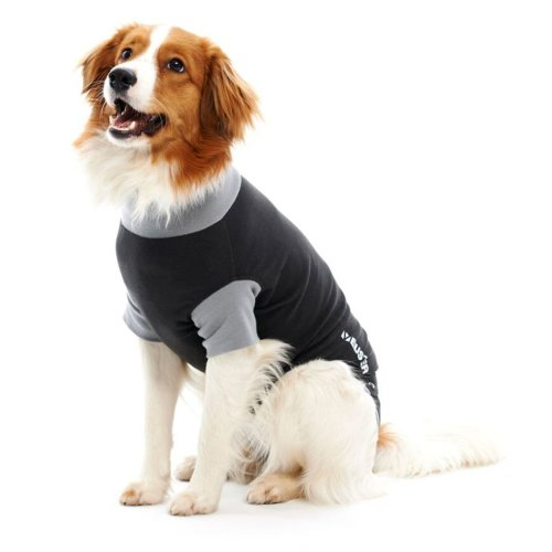 Buster Body Suit Easy Go For Dogs Black/grey L38cm Xsml