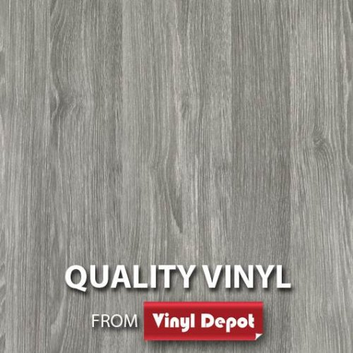 d-c-fix Sticky Self-Adhesive Wood Vinyl Oak Sheffield Pearl Grey 900mm/m
