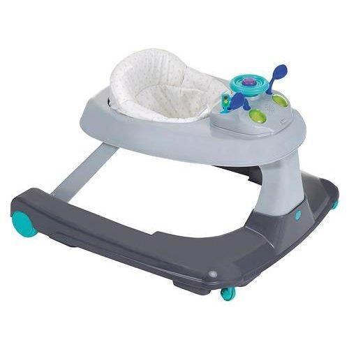 Hauck Ride On 123, 3 in 1 Baby Walker Ride Toy - Hearts, Grey