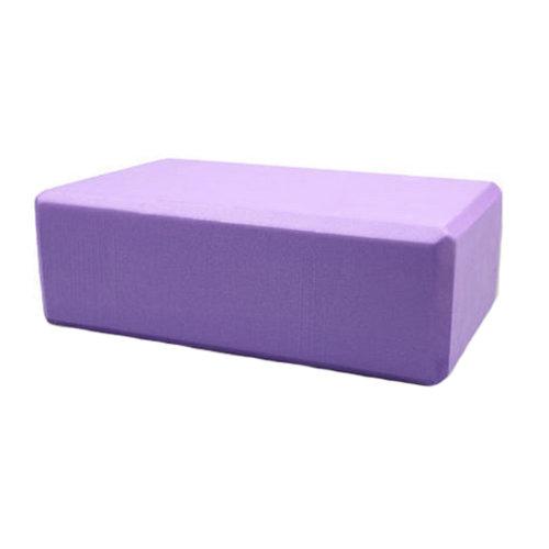 High Density Yoga Block Non-slip Blocks Bricks Yoga Mat Accessory Sports, Purple