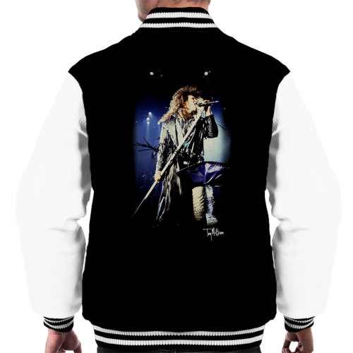 Tony Mottram Official Photography - Jon Bon Jovi Performing Live Men's Varsity Jacket