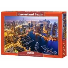 Csc103256 - Castorland Jigsaw 1000 Pc - Dubai at Night