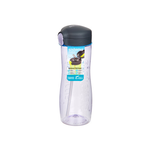 Sistema Quick Flip Bottle, 800ml Purple