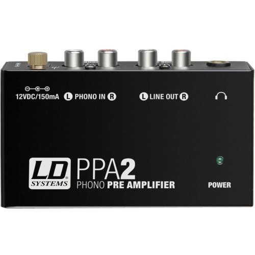 LD Systems PPA 2 - Phono Preamplifier and Equalizer