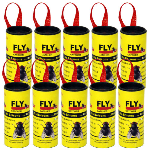 DIGIFLEX Insect Fly Catchers Non-Poisonous Sticky Paper Traps