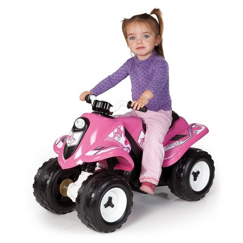 Smoby 033054 Electric Quad Bike Battery Operated Ride On