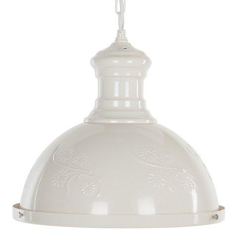 Metal Pendant Lamp Off-White DIDESSA
